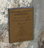 Levesque Veterans Plaque (2003)
