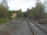 Mock town and railway station on the B&ML line, off Waldo Station Road