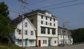 Old Commercial Block in Warren Village (2003)