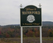sign: Welcome to Waterford, A Peaceful Village (2003)