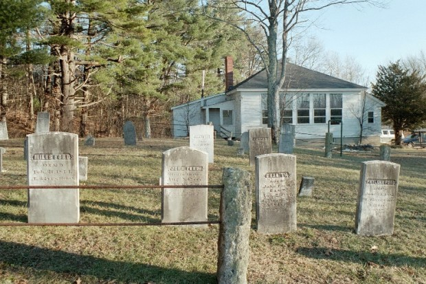 East Waterboro Village Cemetery and Public Library (2003)