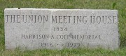 Granite Marker for the Union Meeting House (2003)