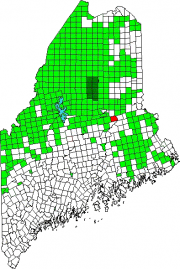 Location Map for Woodville