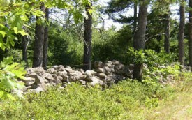 Stone Wall Along a Dirt Road in Woolwich (2003)