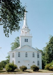 North Yarmouth and Freeport Baptist Meetinghouse, Hillside Street (2002)
