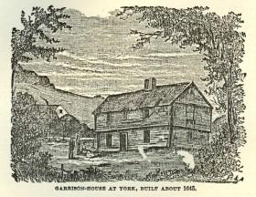 Garrison-House at York, Built 1645
