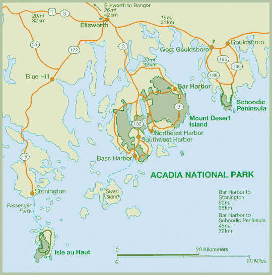 Acadia National Park   Maine: An Encyclopedia on map of white sands national monument, map of white mountain national forest, map of arctic national wildlife refuge, map of cape lookout national seashore, map of chickasaw national recreation area, map of bar harbor, map of cedar breaks national monument, map of deer isle, map of mount rogers national recreation area, map of el yunque national forest, map of oregon dunes national recreation area, map of cumberland island national seashore, map of southwest harbor, map of great sand dunes national park and preserve, map of independence national historical park, map of gulf islands national seashore, map of rockefeller university, map of sonoran desert national monument, map of indiana dunes national lakeshore, map of denali national park and preserve,