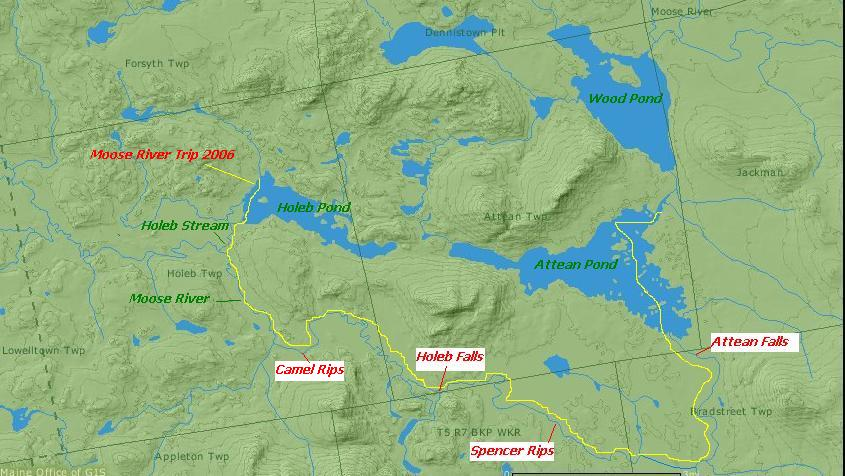 Moose River Bow Canoe Trip Maine An Encyclopedia